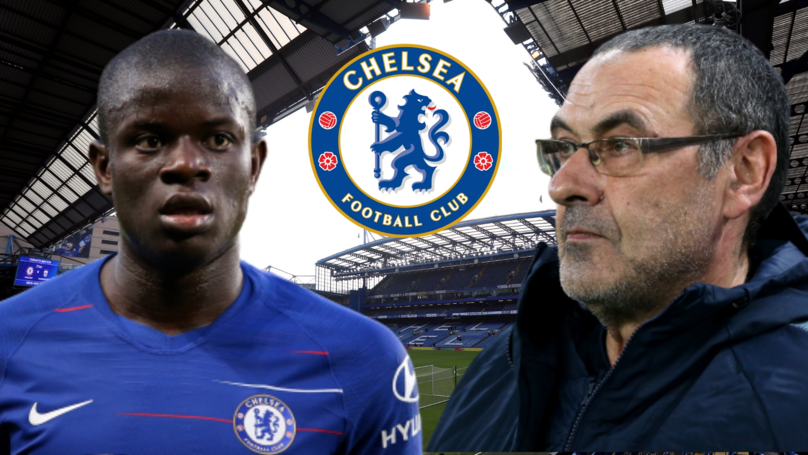 N'Golo Kanté Responds To Criticism Of Maurizio Sarri Playing Him In An Advanced Position