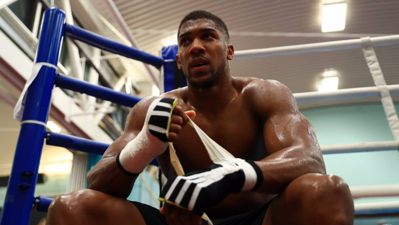 Anthony Joshua Names The Best Boxer In The World