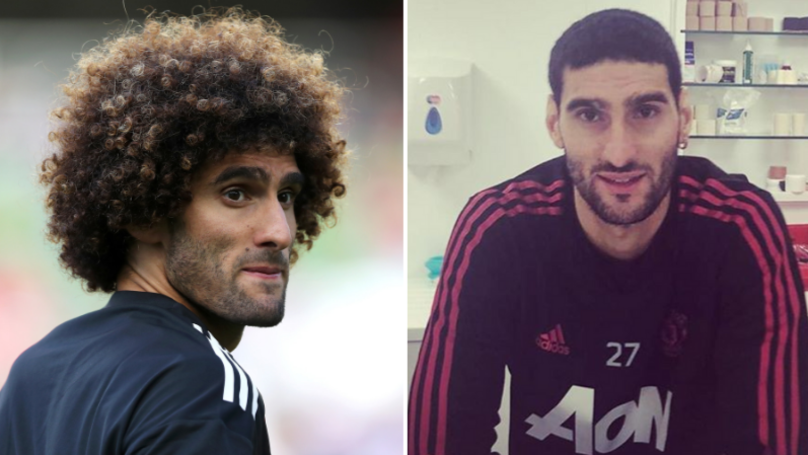 Marouane Fellaini Has Got Rid Of His Afro