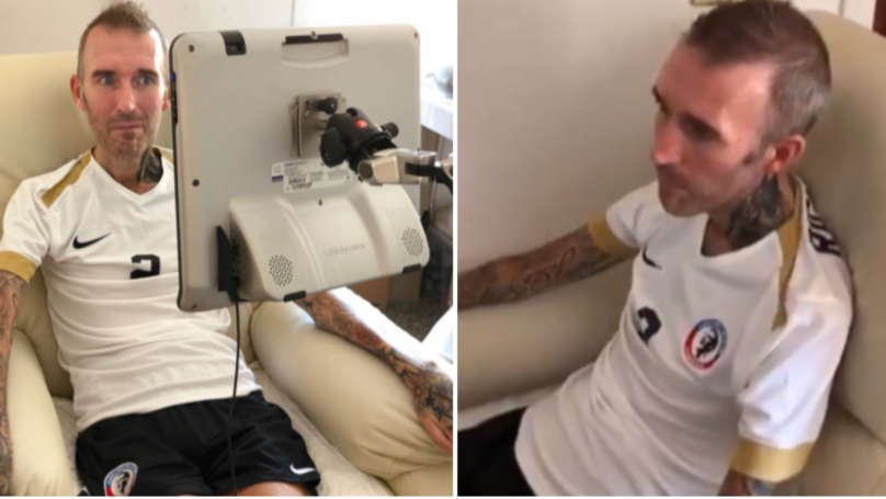 Former Rangers Captain Fernando Ricksen Thanks Fans Using New Voice Machine
