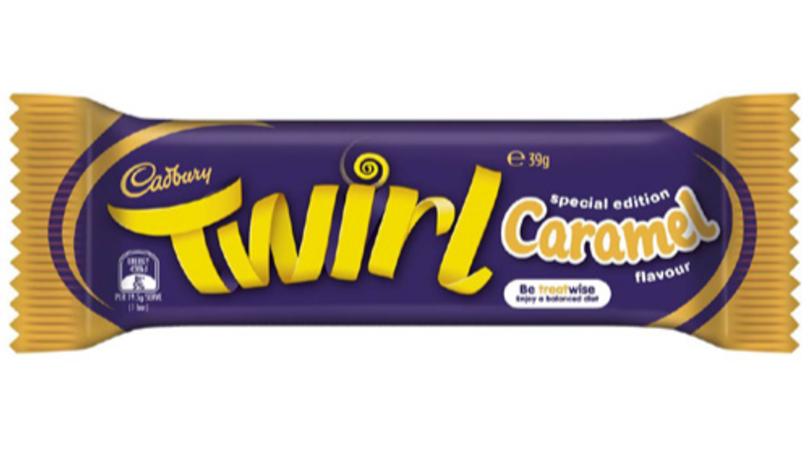 Cadbury Releases A Limited Edition Caramel Twirl Bar