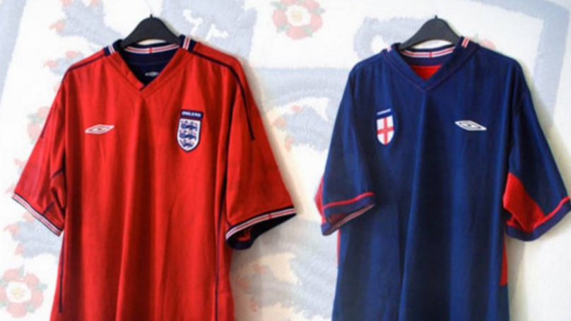 Can We Just Appreciate How Good Umbro's 2002 England 'Reversible' Kit Was