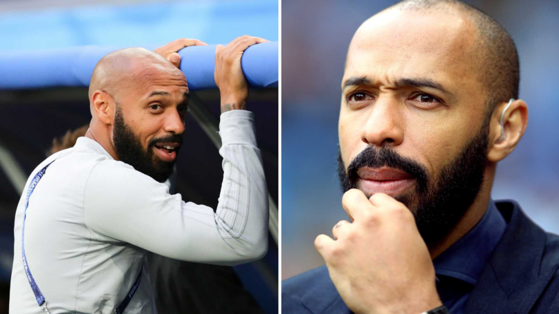 Thierry Henry's First Match As Monaco Manager Ends In Defeat