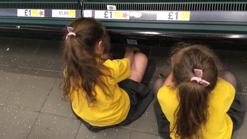 Mum Who Made Her Kids Sit Down In Supermarket Hits Back At Trolls