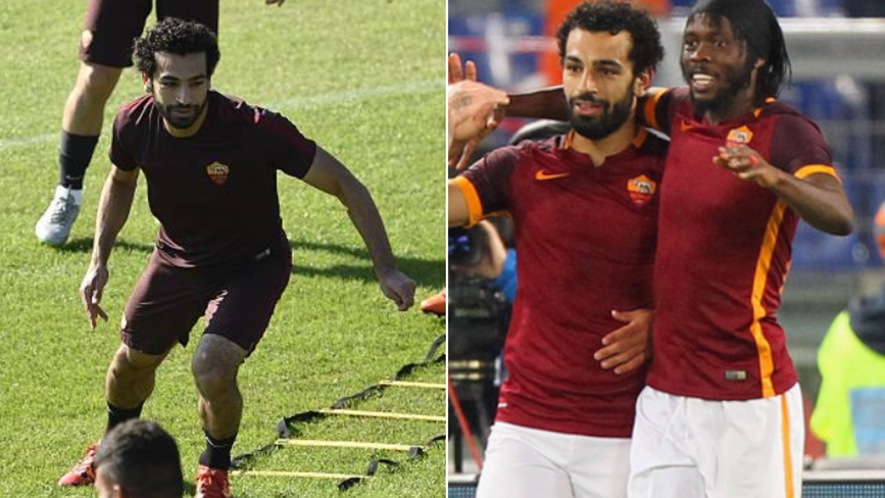 Gervinho Recalls Training Alongside Mohamed Salah, Says He 'Pushed Like A Madman'