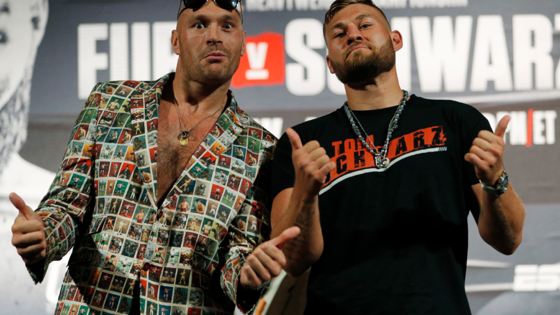 ​Fury vs Schwarz LIVE: UK Start Time, Undercard Details And Latest Odds For Clash in Las Vegas