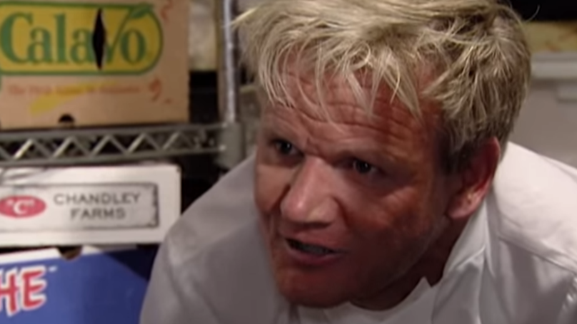 Gordon Ramsay Uploads Picture Of Vegan Pizza But Then Swiftly Deletes It