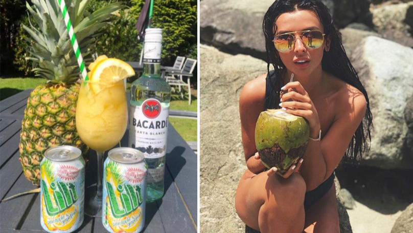 Alcoholic Frozen Lilt Slushies Are A Tropical Bank Holiday Dream