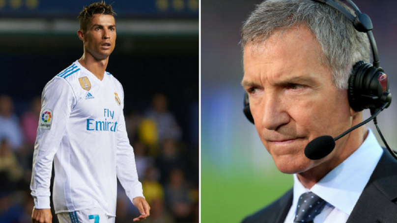Souness Says Ronaldo Spends Most Of His Time On His Bum