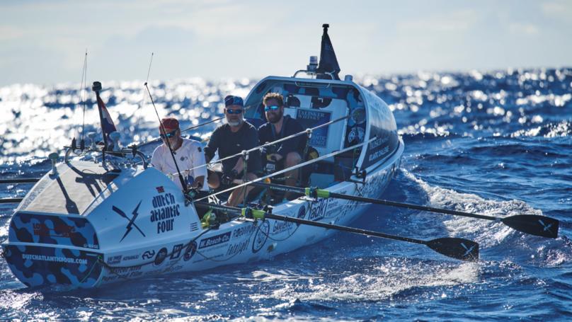 What It Takes To Row 3,000 Miles Across The Atlantic Ocean