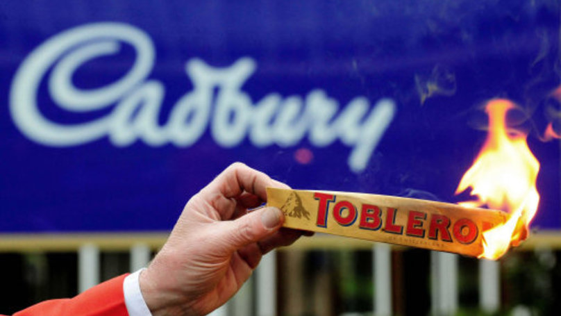 New Toblerone Shape Has Infuriated The British Public