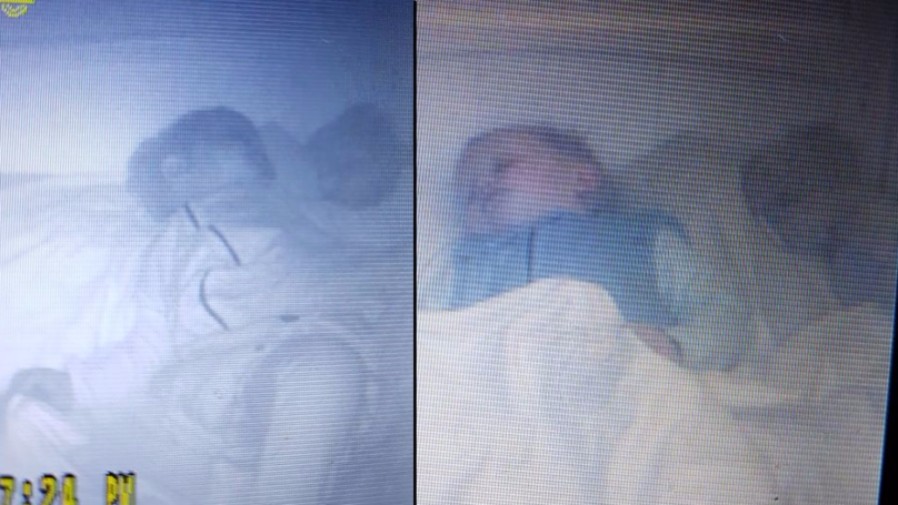 Mother Spots 'Baby Ghost' In Son's Cot On Baby Monitor