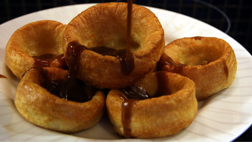 ​Pigs In Blankets In Yorkshire Puddings Are Officially A Thing