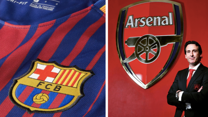 Five Players Emery Wants To Bring To Arsenal This Summer, Including Barca Star