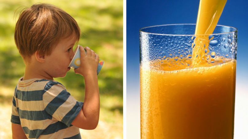 Study Claims Kids Who Drink Fruit Juice 'More Likely To Be Overweight'