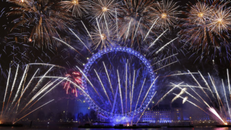 Sadiq Khan Sent Pro-European Message With London New Year's Eve Fireworks