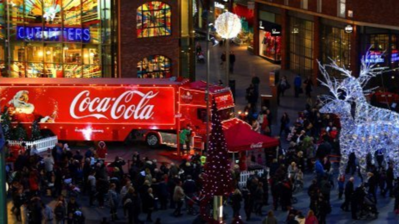 Where Is The Coca Cola Christmas Truck Visiting?