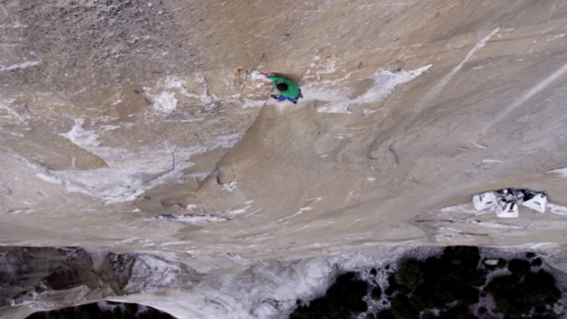 People Have Been Sweating Up A Storm While Watching The Dawn Wall On Netflix
