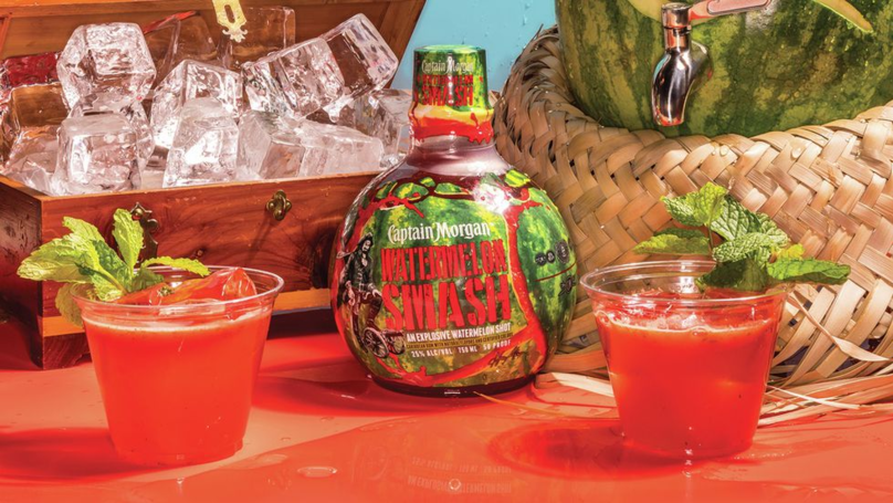 ​Captain Morgan Launches New 'Watermelon Smash' Drink Perfect For The Summer Sesh