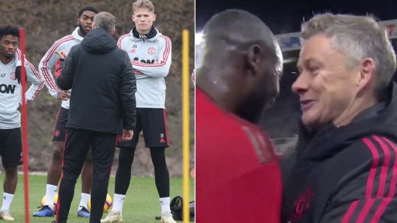 Romelu Lukaku Reveals How Solskjaer 'Really Surprised' Him On His First Day Of Training