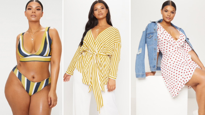 PrettyLittleThing Impress Fans With Plus-Size Collection