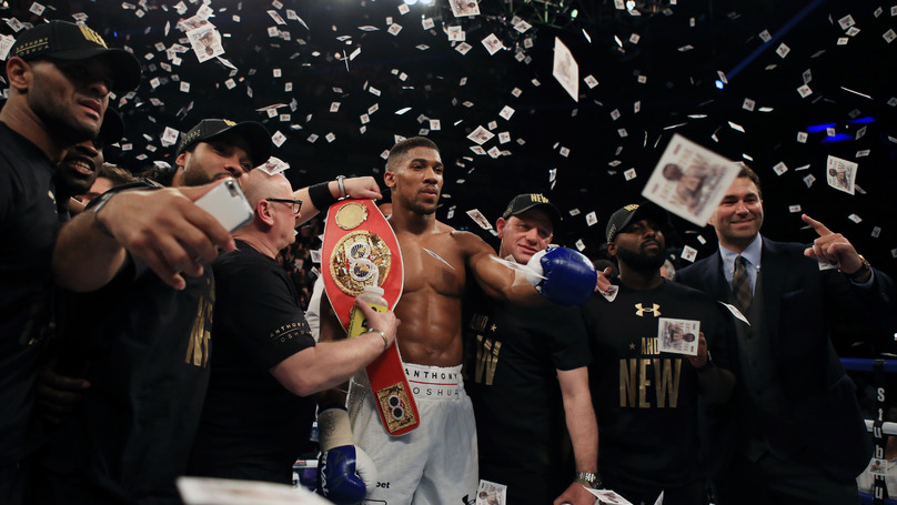 Anthony Joshua Versus Deontay Wilder Looking To Be Fought In Las Vegas