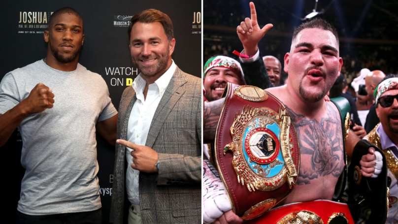 Anthony Joshua Will Face Andy Ruiz Jr In Saudi Arabia In $100 Million Mega-Event