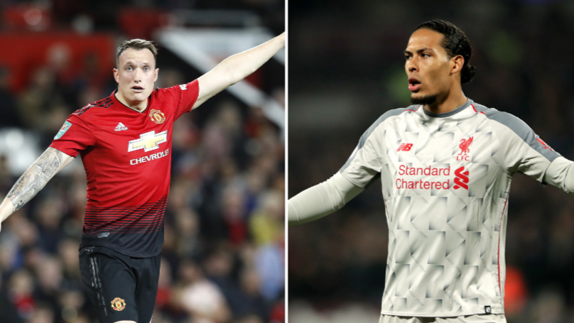 Nemanja Vidic: 'Phil Jones Is Better Than Virgil Van Dijk'