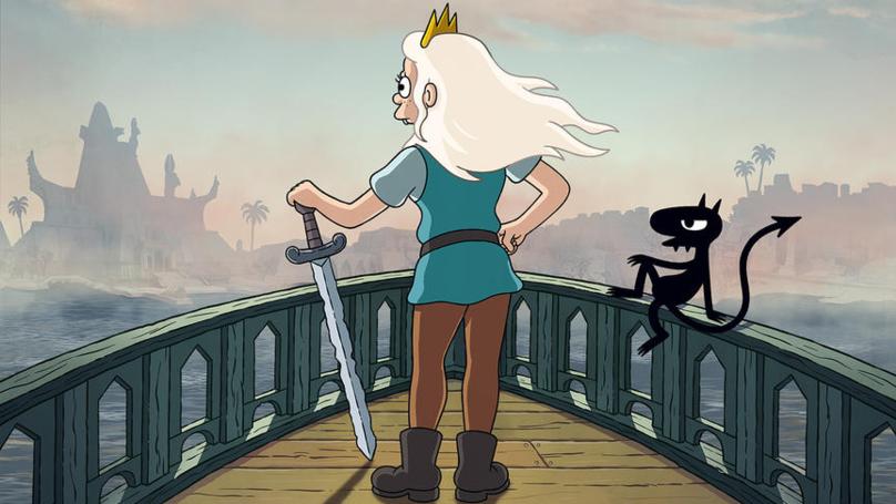 Matt Groening Series Disenchantment Returns To Netflix This September