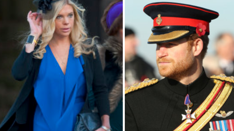 Prince Harry 'Called Ex Chelsy Davy Day Before Royal Wedding'