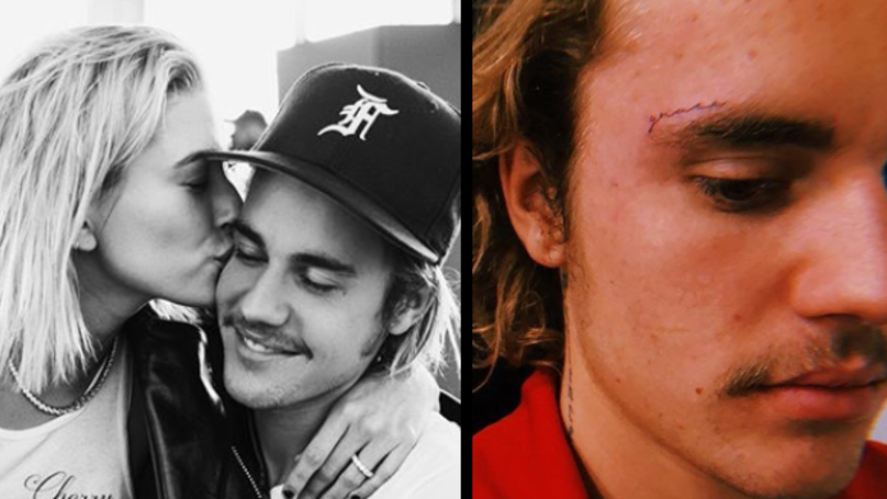 Justin Bieber's Face Tattoo Has Finally Been Revealed