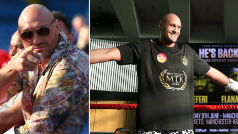 EXCLUSIVE: Tyson Fury Vows To Become Heavyweight World Champion, Issues Message To Anthony Joshua