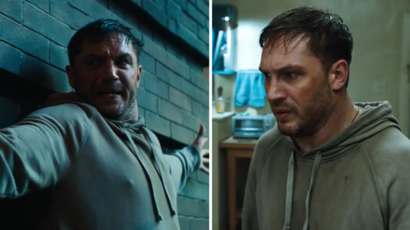 WATCH: Tom Hardy Makes His Debut As Venom In New Trailer