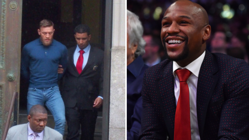 Floyd Mayweather Has His Say On Conor McGregor's Crazy Antics