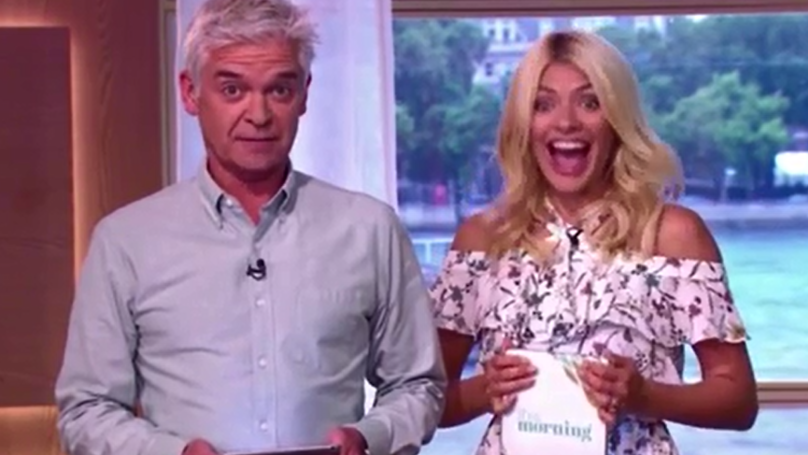 'Silver Fox' Baby Has Holly Willoughby Asking If Phillip Schofield Is The Secret Father