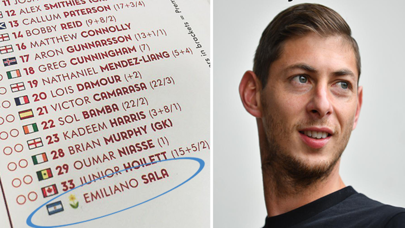 Arsenal Have Included An Incredible Tribute To Emiliano Sala In Their Match-Day Programme