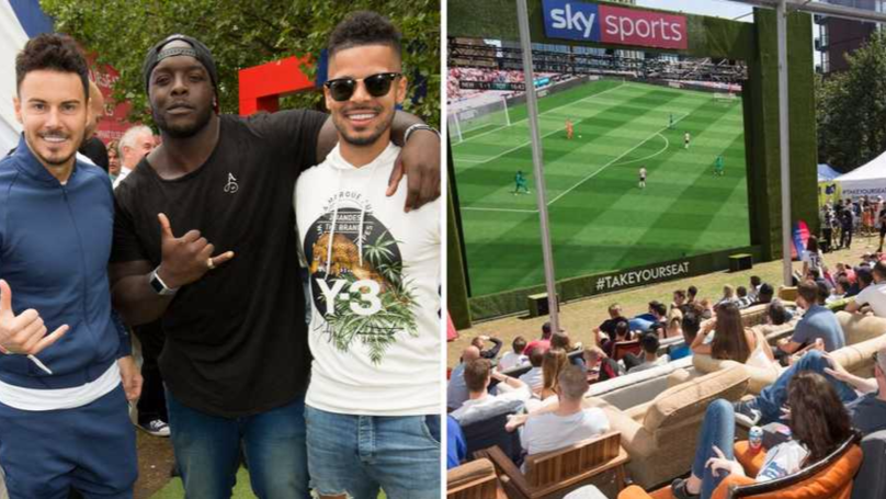 Sky Sports Hosted Dream Event To Celebrate Start Of Premier League Season