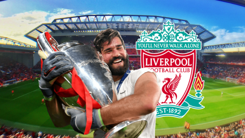 Liverpool's Alisson Becker Voted The Best Keeper In The Premier League