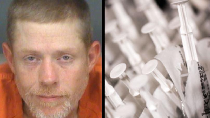 Man Claims Syringes Found In His Bum Aren't His