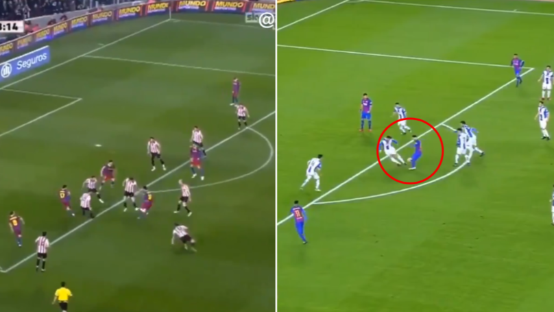A Compilation Of Lionel Messi Almost Scoring Unbelievable Goals Is Brilliant