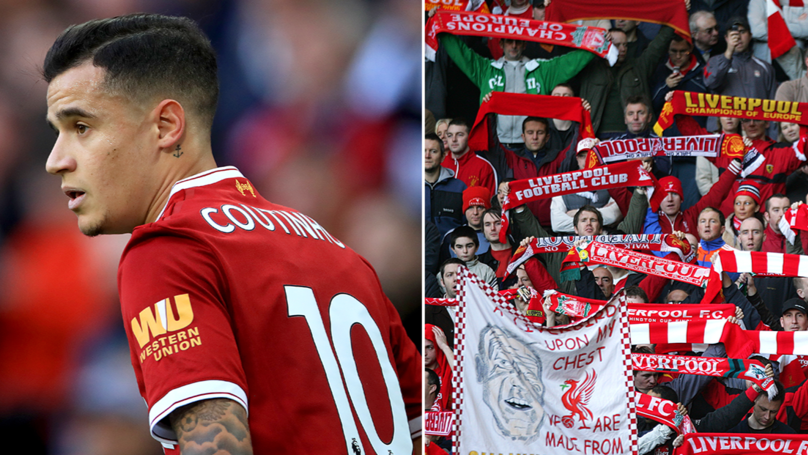 4,000 Liverpool Fans Vote For Who They Want To Replace Philippe Coutinho
