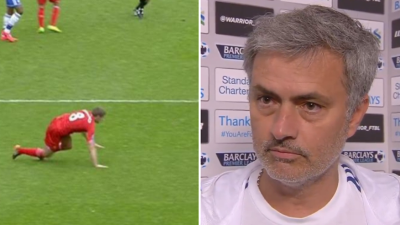 Jose Mourinho's Post 'Slip' Interview Is An Absolute Mourinho Classic