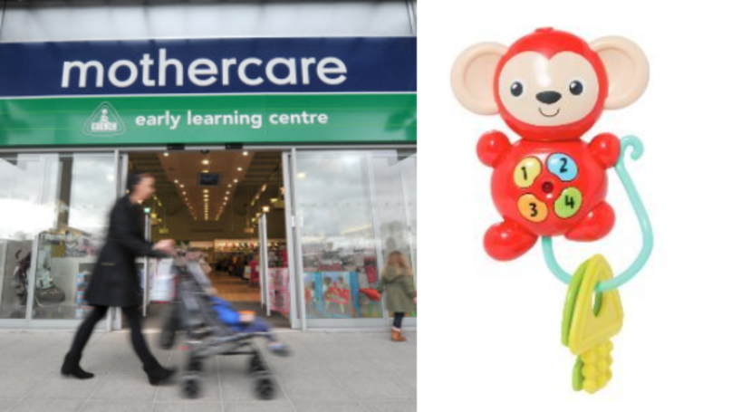 Mothercare Issues Urgent Recall Of 'My First Keys' Toy Over Battery Fears