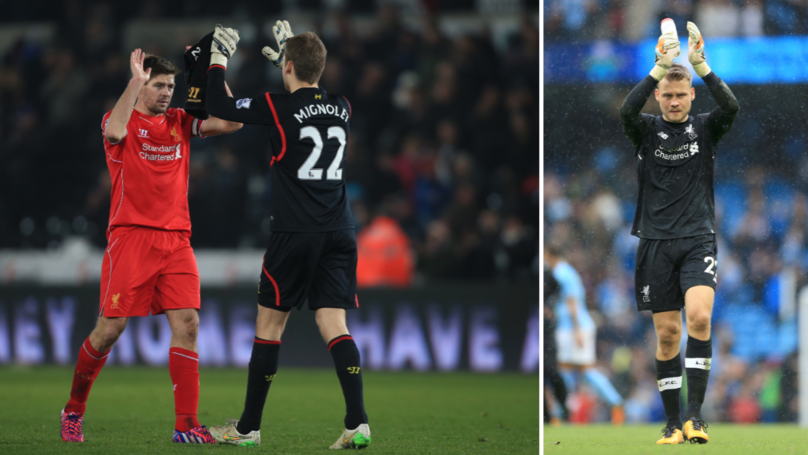 Liverpool Fans Will Hope Simon Mignolet Is Right About Steven Gerrard And Rangers