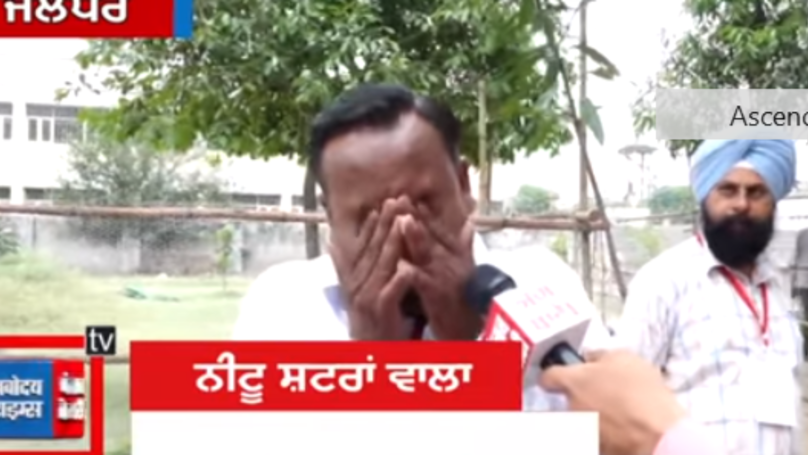 Politician Cries After Being Told He Only Got Five Votes, Despite Having Nine Family Members