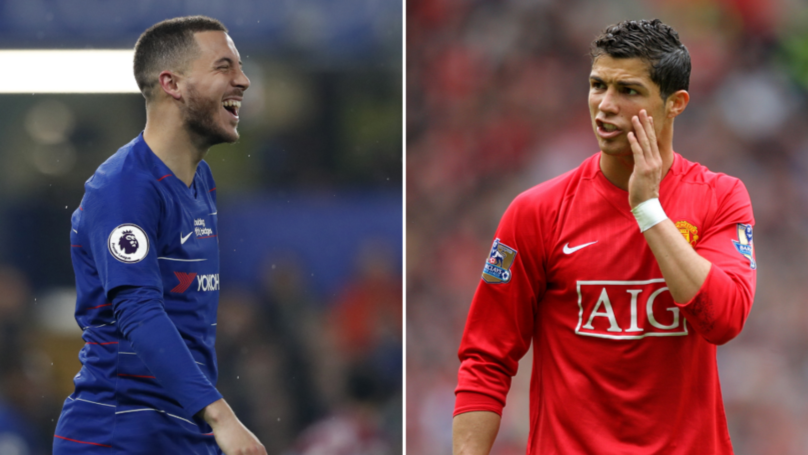 Eden Hazard Has Now Scored More Premier League Goals Than Cristiano Ronaldo