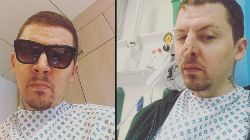 Professor Green Shares Photos From Hospital After Getting 'Stomach Drained'