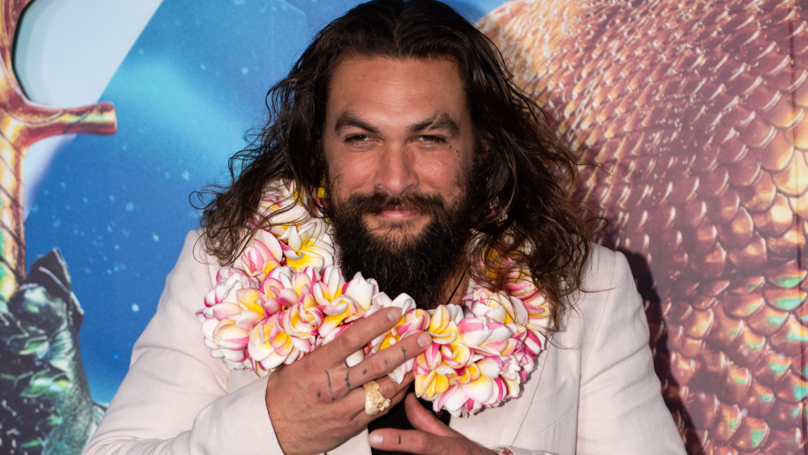 Jason Momoa Builds Family Heirloom Harley Davidson For Father's Day