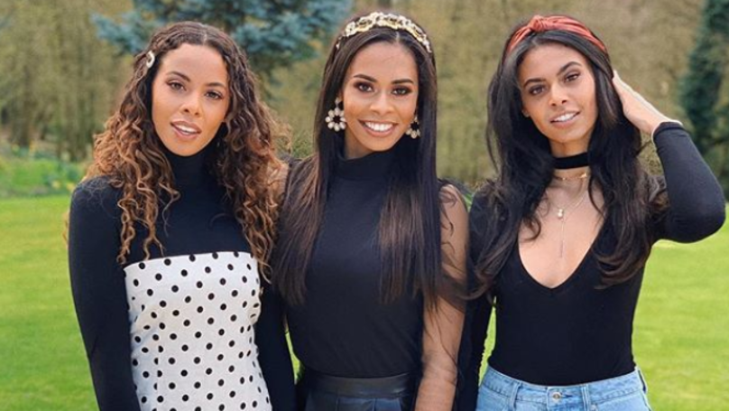 Rochelle Humes Fans Stunned With Rare Snap Of Her Two Sisters