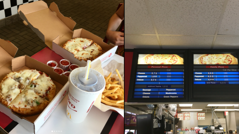 There's One McDonald's In The World Currently Serving McPizza